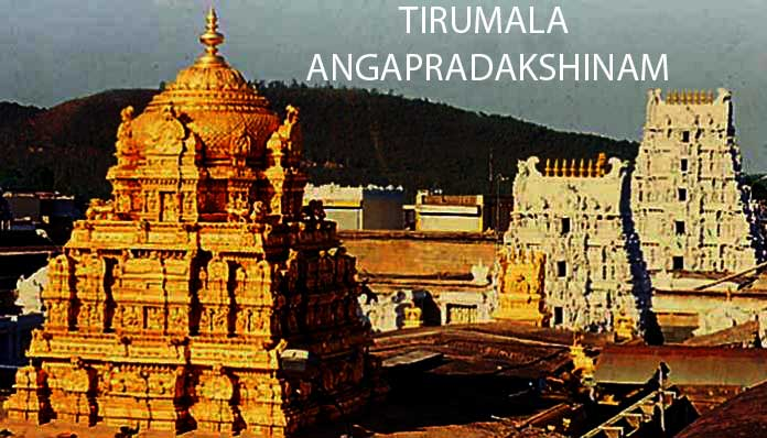 Tirumala Angapradakshinam tickets online booking
